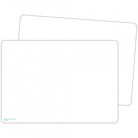 Double-Sided Premium Blank Dry Erase Boards, Pack of 10