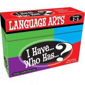 I Have, Who Has Language Arts Game, Grade 2-3