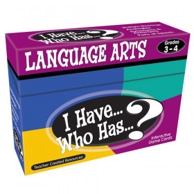 I Have... Who Has...? Language Arts Game (Gr. 3?4)