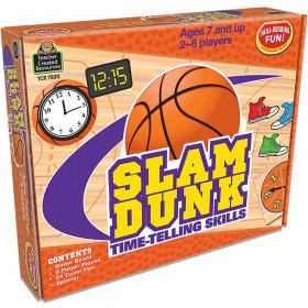 Slam Dunk: Time-Telling Skills Game
