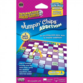 Addition Jumpin Chips Game