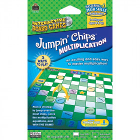 Multiplication Jumpin Chips Game