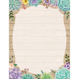 Rustic Bloom Blank Chart