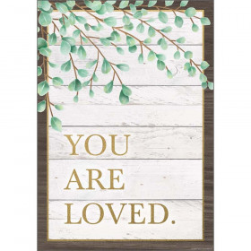 "You Are Loved Positive Poster, 13-3/8"" x 19"""