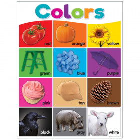 Colorful Colors Chart