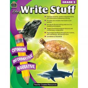 The Write Stuff (Gr. 3)
