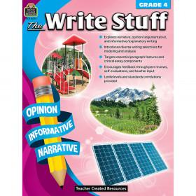 The Write Stuff (Gr. 4)