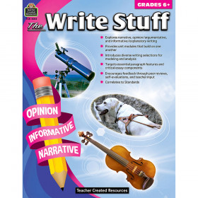 The Write Stuff (Gr. 6+)