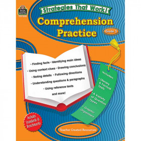 Comprehension Practice Gr 5 Strategies That Work