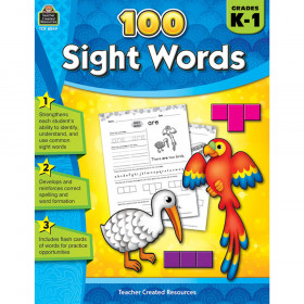 100 Sight Words Gr K-1
