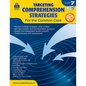 Targeting Comprehension Strategies for the Common Core (Gr. 7)