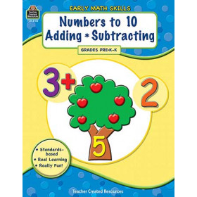 Early Math Skills Numbers To 10 Adding Subtracting Gr Pk-K