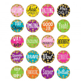 Confetti Stickers, Pack of 120