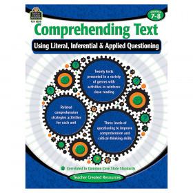 Comprehending Text Book, Grades 7-8