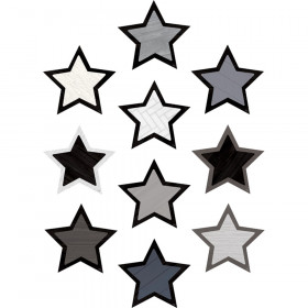 Modern Farmhouse Stars Accents, Pack of 30