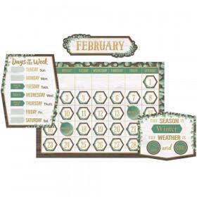 Eucalyptus Calendar Bulletin Board Set