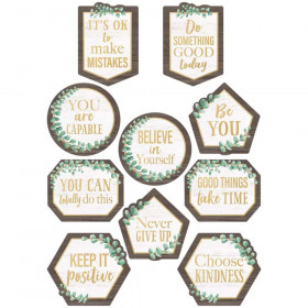 Eucalyptus Positive Sayings Accents, Pack of 30