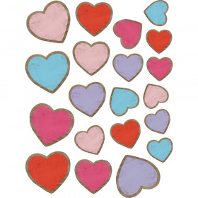 Home Sweet Classroom Hearts Accents, Assorted Sizes, Pack of 60