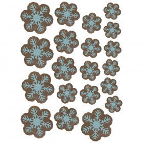 Home Sweet Classroom Snowflakes Accents, Assorted Sizes, Pack of 60