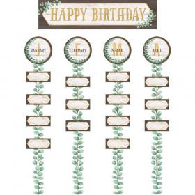 Eucalyptus Happy Birthday Bulletin Board Set