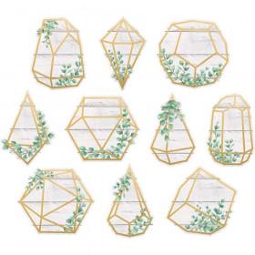 Eucalyptus Geometric Terrariums Accents, Pack of 30