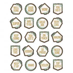 Eucalyptus Stickers, Pack of 120