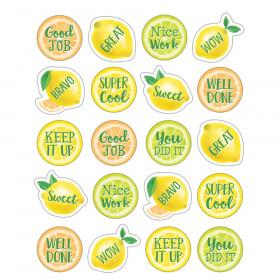 Lemon Zest Stickers, Pack of 120