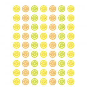 Lemon Zest Mini Stickers, Pack of 378