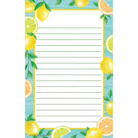 "Lemon Zest Notepad, 50 Sheets, 5.25"" x 8.5"""