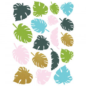 Tropical Palm Leaves Accents Assorted Sizes, Pack of 45
