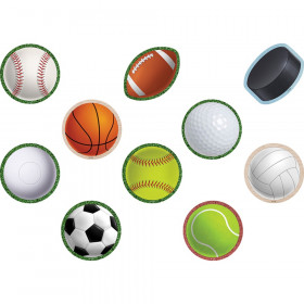 Sports Mini Accents, Pack of 36