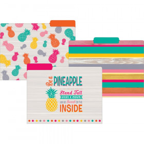 Tropical Punch File Folders, Letter Size, Pack of 12