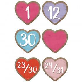 Home Sweet Classroom Hearts Calendar Days, Pack of 36