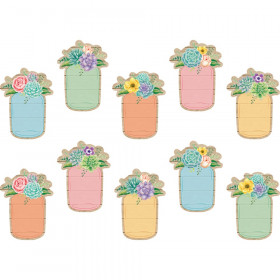 Rustic Bloom Mason Jars Accents, Pack of 30