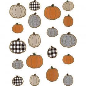 Home Sweet Classroom Pumpkins Accents, Assorted Sizes, Pack of 57