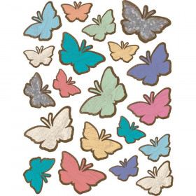 Home Sweet Classroom Butterflies Stickers, Pack of 120