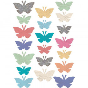Home Sweet Classroom Butterflies Accents, Assorted Sizes, Pack of 60