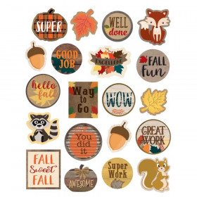 Home Sweet Classroom Fall Stickers, Pack of 120