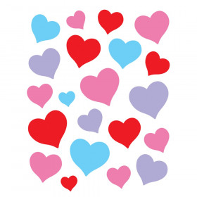 Charming Hearts Stickers, Pack of 120