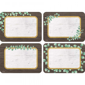 Eucalyptus Name Tags/Labels Multi-Pack, Pack of 36