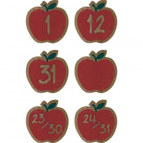 Home Sweet Classroom Apples Calendar Days, Pack of 36