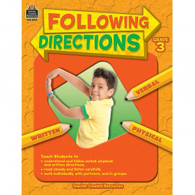 Following Directions Gr 3