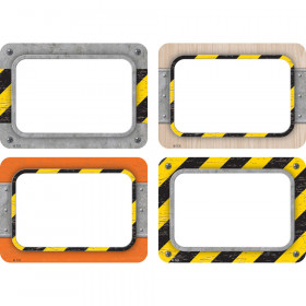Under Construction Name Tags/Labels, Multi-Pack