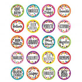 Confetti Spanish Stickers