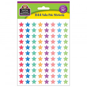 Watercolor Stars Mini Stickers Valu-Pak