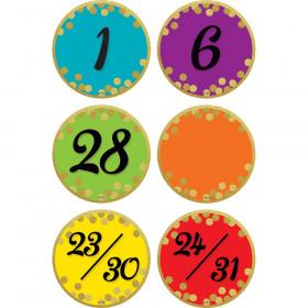 Confetti Colorful Calendar Days