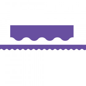 Ultra Purple Scalloped Border Trim