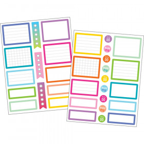Colorful Labels Planner Stickers