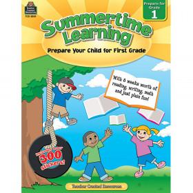 Summertime Learning (Prep. for Gr. 1)