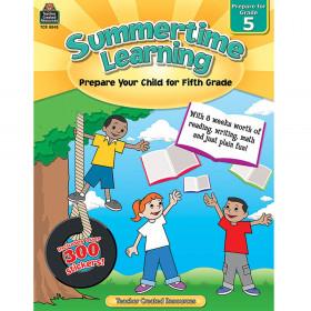 Summertime Learning (Prep. for Gr. 5)